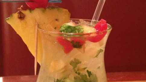 Mantra Indian Cuisine & Spirits fun alcoholic drink